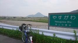野洲市の三上山? 近江富士(432m)?