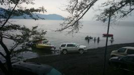 暫し休憩のみで二日がかり琵琶湖一周サイクリング、ママチャリで何処まで行くの?・・レジャー費用が全然違います