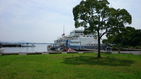 【ビワイチ】琵琶湖一周サイクリング(びわ湖) 学習船「うみのこ」